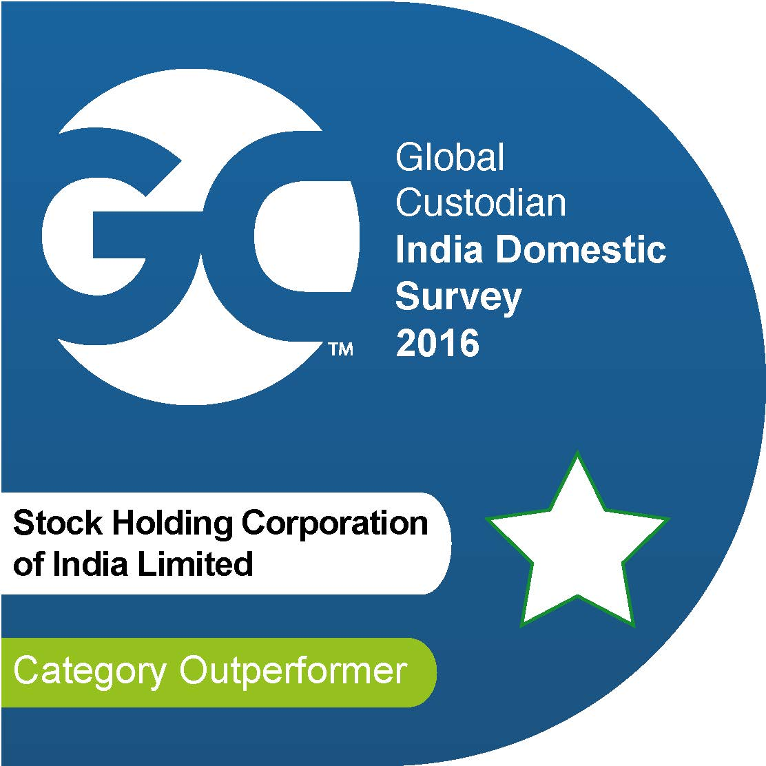 StockHolding Corporation Of India Limited Cao BEST CUSTODIAN BUSINESS EXCELLENCE